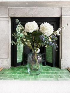 Interior design studio based in London. Kew Gardens, Interior Inspiration, Room Inspiration, Open Plan Kitchen Dining Living, Dining Room, Vase Arrangements, Fireplace Design, Home Office Design, Home Decor Accessories