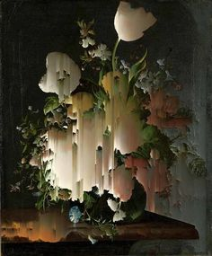 GORDON CHEUNG Rachel Ruysch II (Small New Order), 2014 archival inkjet on coated hahnemuhle photo rag 308 gsm paper 29 2/5 × 23 in