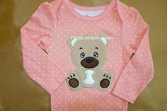 Looking for your next project? You're going to love Applique Baby Bear embroidery file by designer Hug Longer.