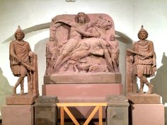 """Mithras Altar"", Archaeological Museum, Frankfurt am Main, Germany"