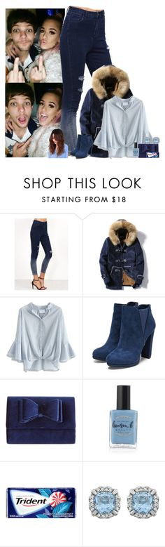 """""""celebrating Tommys 21'st birthday w/louis&lottie"""" by nblankenship ❤ liked on Polyvore featuring Chicwish, INC International Concepts and Lauren B. Beauty"""