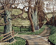 Broadmires by Simon Palmer on Curiator, the world's biggest collaborative art collection. Acrylic Portrait Painting, Painting & Drawing, Landscape Art, Landscape Paintings, Landscapes, Perspective Drawing, European Paintings, Collaborative Art, Art For Art Sake