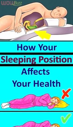 How Your Sleeping Position Affects Your Health Neck And Back Pain, Neck Pain, Body Fitness, Fitness Life, Fitness Goals, Senior Fitness, Fitness Quotes, Health And Fitness Tips, Health Tips