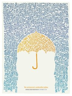 be someones umbrella today