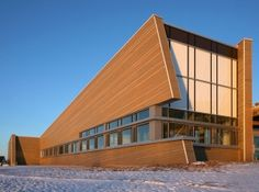 Joggins Fossil Cliff Museum by WHW Architects.