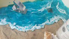 Mar con piping gel