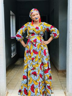 Ankara gowns can make you look good. Here are some lovely ankara gowns that can make you look good for your occasions. African Dresses For Kids, Latest African Fashion Dresses, African Dresses For Women, African Print Fashion, African Attire, African Print Dress Designs, Ankara Designs, African Print Jumpsuit, Ankara Short Gown Styles