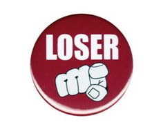 Loser Knopf Abzeichen Pin lustige Fingerzeig Humor Loser Humor, I Hate People, Button Badge, Metal Pins, Patches, Buttons, Finger, This Or That Questions, Retro