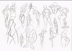 Female poses by RikuGloomy.deviantart.com on @DeviantArt