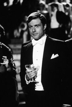 Robert Redford as the Great Gatsby