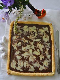 mazurek podwójnie czekoladowy