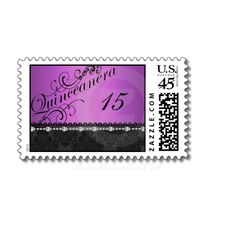 Quinceanera Stamps for Your Invites #quince #quinceanera #sweet15 #sweet16
