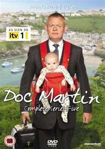 Doc Martin - hooked on this series.  lol