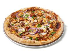 Almost-Famous Barbecue Chicken Pizza from FoodNetwork.com