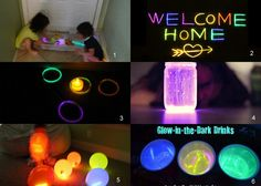 Having Fun at Home: Creative Uses for Glow Sticks