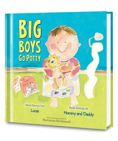 A huge accomplishment in a little boy's life is learning to use the potty like a big kid. This Big Boys Go Potty Personalized Book makes the potty training experience easier to handle and less intimidating for your son. Personalize this educational book Big Boys, Little Boys, Personalized Books For Kids, Boys Life, Kid Names, Paperback Books, 6 Years, Mom And Dad, Childrens Books