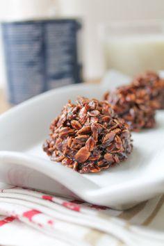Fudgy Coconut & Oat Macaroons - Gluten Free & Vegan