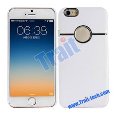 Fashion Smooth Oil Coated Hard PC Case for iPhone 6 4.7 inch(White)