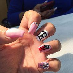 Initial nails nails pinterest initials client selfie redbottoms nails nailart miaminailtech miami nails2inspire prinsesfo Gallery