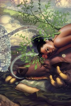 Paul Davey (aka Mattahan) is an illustrator from Manchaster, Jamaica.