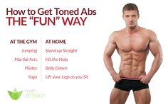 how to get toned abs - http://www.healthambition.com/how-to-get-toned-abs/