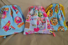 Shopkins Fabric Pouch/ Shopkins Bag/ Shopkins by JanviaBoutique  Buy fabric at Joann Fabrics