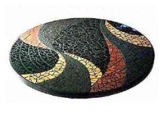Tampo De Mesa - Mosaico - Abstrato
