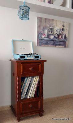 Retro y con encanto: Un mueble itinerante...