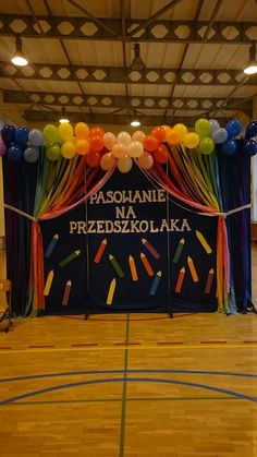 Pasowanie Art Themed Party, Party Themes, Nursery Class Decoration, Diy And Crafts, Crafts For Kids, Kids Zone, School Decorations, Flower Crafts, Activities For Kids