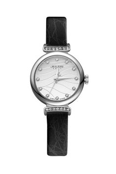 Julius Watch JA-875A Fashion Watch Women`s Leather Strap Watch