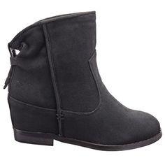 Sopily - Scarpe da Moda Stivaletti - Scarponcini Low boots alla caviglia donna Tacco zeppa 7 CM - soletta tessuto - Nero in OFFERTA su www.kellieshop.com Scarpe, borse, accessori, intimo, gioielli e molto altro.. scopri migliaia di articoli firmati con prezzi da 15,00 a 299,00 euro! #kellieshop Seguici su Facebook > https://www.facebook.com/pages/Kellie-Shop/332713936876989