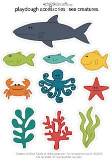 Festa fundo do mar (para imprimir)