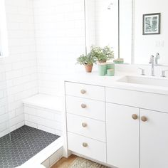bathroom knobs | almost makes perfect