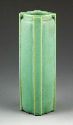 Teco Architectural Buttressed Vase : Lot 5052