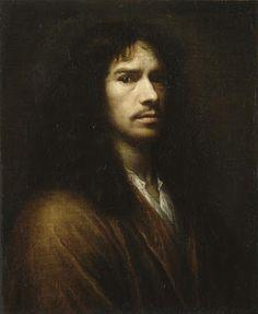 Wallerand Vaillant - Autoportrait. [Louvre]
