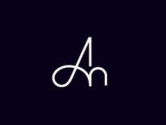 Dribbble - AM Monogram by Rich Baird