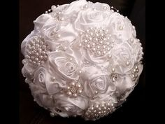 DIY wedding decorations tutorial - How to make a Brooch bouquet - Sugarella Sweets - YouTube