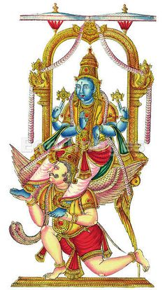 Hindu god Vishnu, mis 1800's