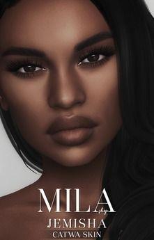 Jemisha skin [dark] catwa colouring, ties, dating sim, Sims 4 Game Mods, Sims Games, Sims 4 Mods Clothes, Sims 4 Clothing, Sims 4 Cas, Sims Cc, Sims 4 Cc Makeup, Mod Makeup, Sims 4 Cc Folder