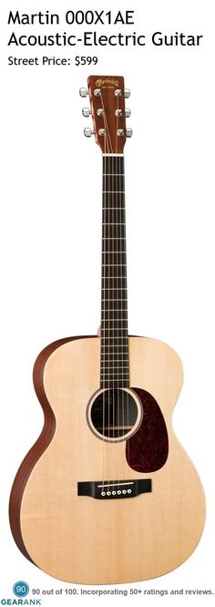 The acoustic-electric guitar features a platform and a Dreadnought body design that produces a full, sustaining sound. The East Indian rosewood-grained laminate (HPL) back and sides give i Basic Guitar Lessons, Rick E, Types Of Guitar, Guitar For Beginners, Beautiful Guitars, Classical Guitar, Martin Guitars, Epiphone, Mandolin