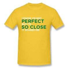 Boy Tshirt Custom Make Cute Know Im Perfect