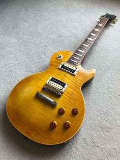 Gibson Les Paul Standard Faded 2007 Amber Burst Slash Style AFD look Chambered