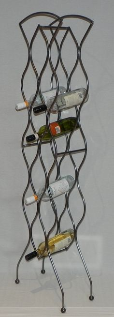 Wrought Iron Wine Rack Deco Design
