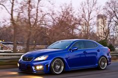 Lexus IS F fully donning the Artisan Spirits Aero Kit and on HRE 590RS wheels.