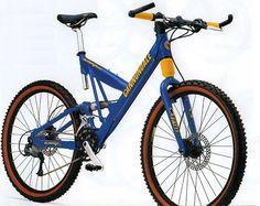 Cannondale Super V 2000 Team Blue Gloss colour Cannondale Bikes, Push Bikes, Bicycles, Mtb, Mountain Biking, Colour, Blue, Biking, Color