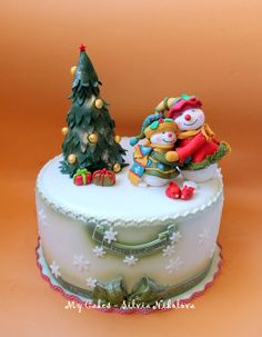 EDITOR'S CHOICE (12/26/2013) Merry Christmas! by My Cakes - Silvia Nikolova View details here: http://cakesdecor.com/cakes/103804