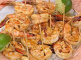 Picture of Thai Marinated, Skewered and Grilled Jumbo Shrimp Recipe