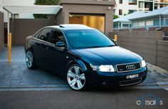 2004 Audi A4 quattro on Bentley wheels