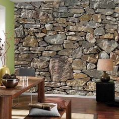 Brewster Home Fashions Komar Stone Wall Mural Ideas Pinterest Walls Murals And