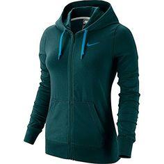 NIKE Nike Women'S Jersey Full Zip Sport Casual Hoodie. #nike #cloth #